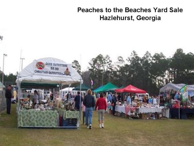 Peaches to the Beaches Yard Sale